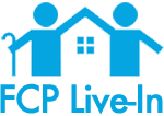 FCP Live-In Logo Prevention Care | In-Home Fall Prevention Care, Fall Prevention Care, Elderly Injury Prevention Care