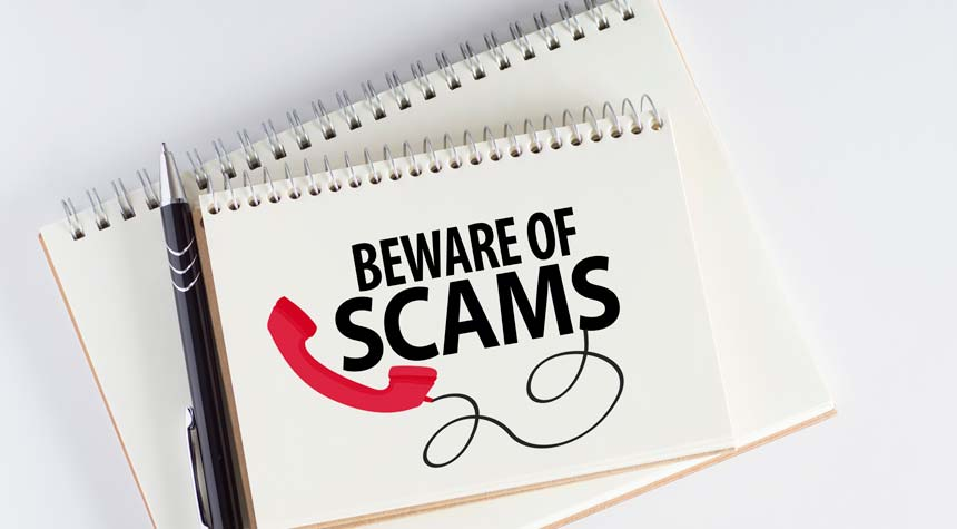 Scam Alert/Fraud Alert   NOV 2020- Scammers Pretending to Be With the DOJ